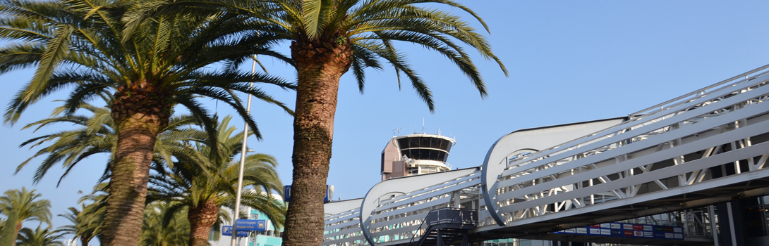 Need a taxi to the airport of Nice Côte d'Azur? Call HEP TAXI!